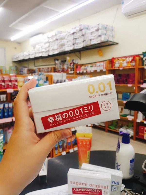 Bao cao su Sagami Original 001