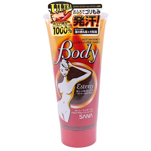 Kem tan mỡ bụng Esteny Hot Body Massage Gel SANA