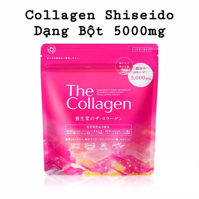 Shiseido the collagen dạng bột