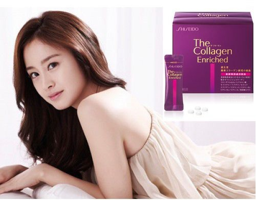 Collagen Shiseido Enriched viên