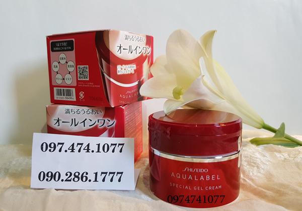 shiseido đỏ