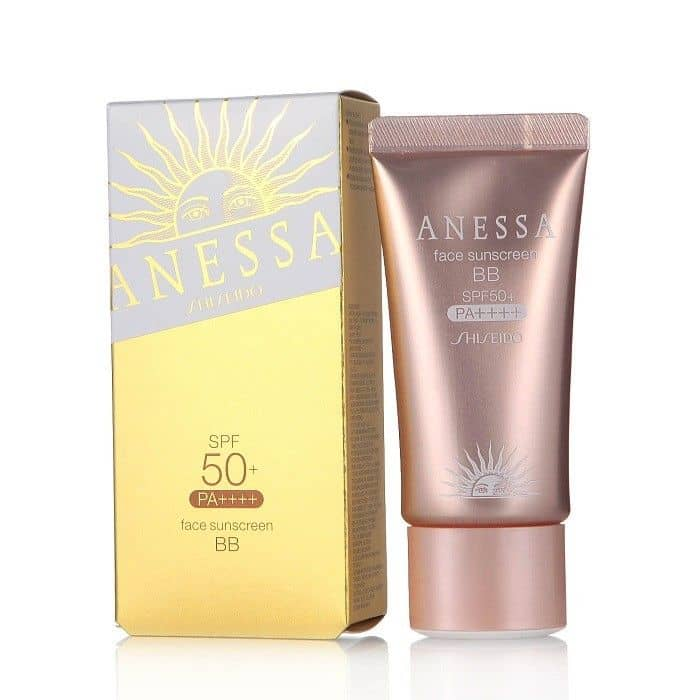 BB Cream Shiseido Anessa Face Sunscreen SPF 50+/PA++++