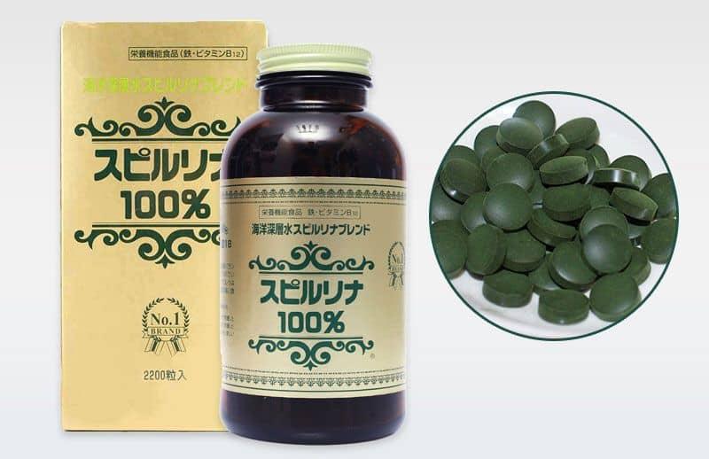 tảo Spirulina Nhật Bản - hực phẩm giàu chất dinh dưỡng giúp tăng cân hiệu quả