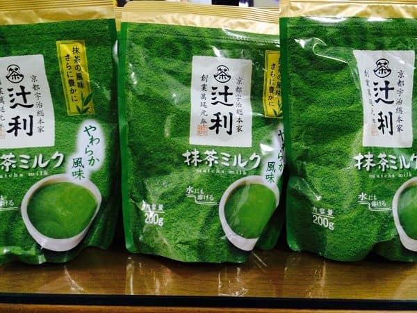 bột trà xanh matcha milk của Nhật Bản